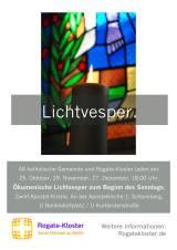 Einladung Lichtvesper
