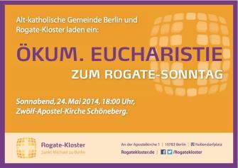 Rogate Kl_Aushang_Eucharistie Rogate-So_200114 Kopie