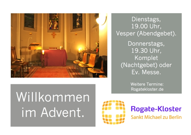 Rogate im  Advent