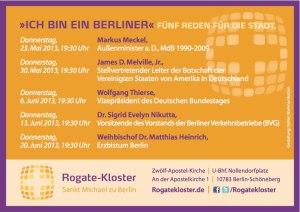 """Gottesdienstreihe: """"Ich bin ein Berliner"""""""