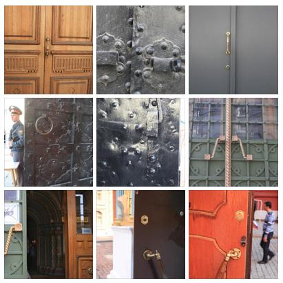 Foto-Reihe: Kirchentüren. Gottes Türschlösser.