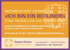 Rogate-Gottesdienst mit Weihbischof Heinrich