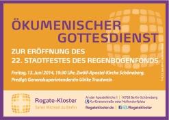 Einladung zur Stadtfest-Eröffnung