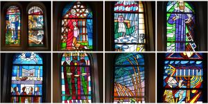 Bibel für die Augen: Die Glasfenster in der Zwölf-Apostel-Kirche Schöneberg