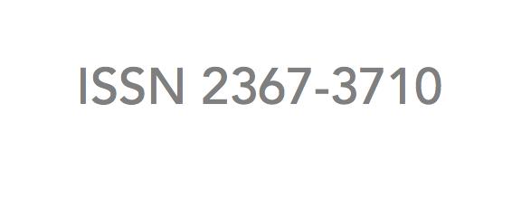 ISSN 2367-3710