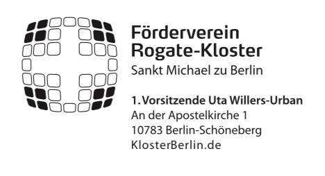 2018 Adresse Förderverein