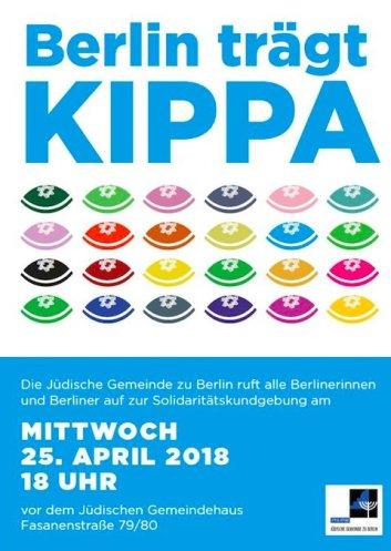 Berlin trägt Kippa